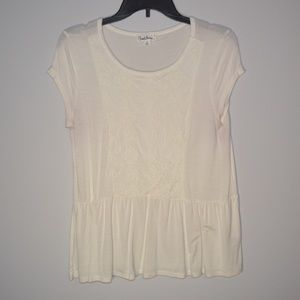BABY DOLL LACE BLOUSE